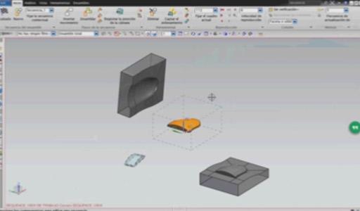 diseñar la cavidad y núcleo de un molde con nx9.0