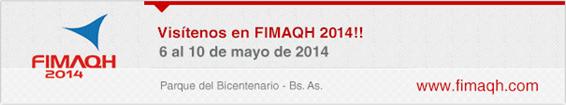 Visitenos en FIMAQ 2014